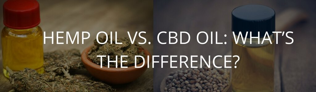 Hemp Oil vs  CBD Oil: What's The Difference? | Chronic Therapy