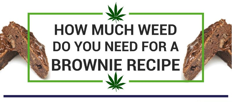 How Much Weed do you need for a brownie recipe Chronictherapy